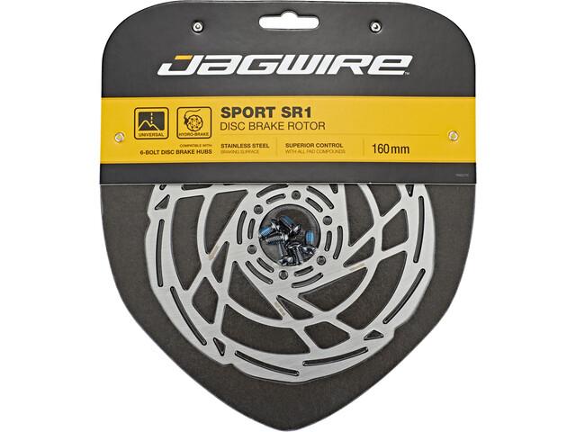 Jagwire Sport SR1 Disque de frein 6 boulons, silver